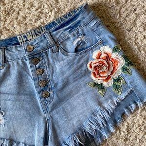 Super High Waisted Jean Shorts